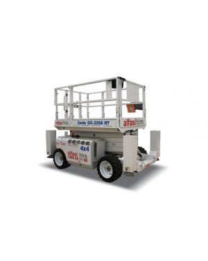 32 DIESEL ROUGH TERRAIN SCISSOR LIFT