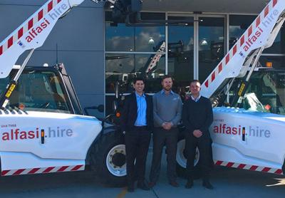 Alfasi Hire has bought three new JCB 525-60 Agri Plus Telehandlers to improve its fleet