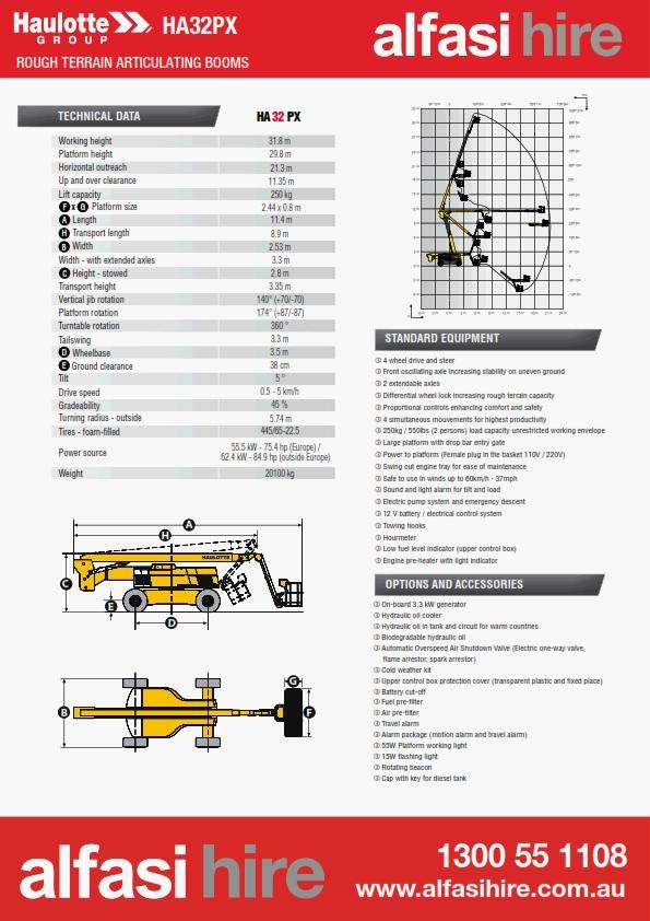 100 Diesel Knuckle Boom Specification