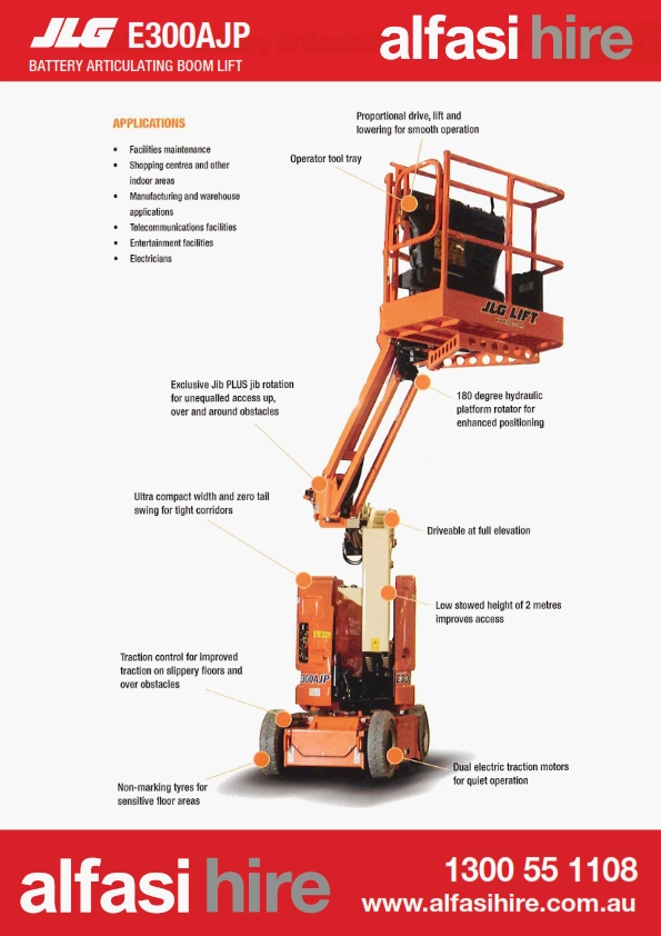 30 Electric Knuckle Boom Features