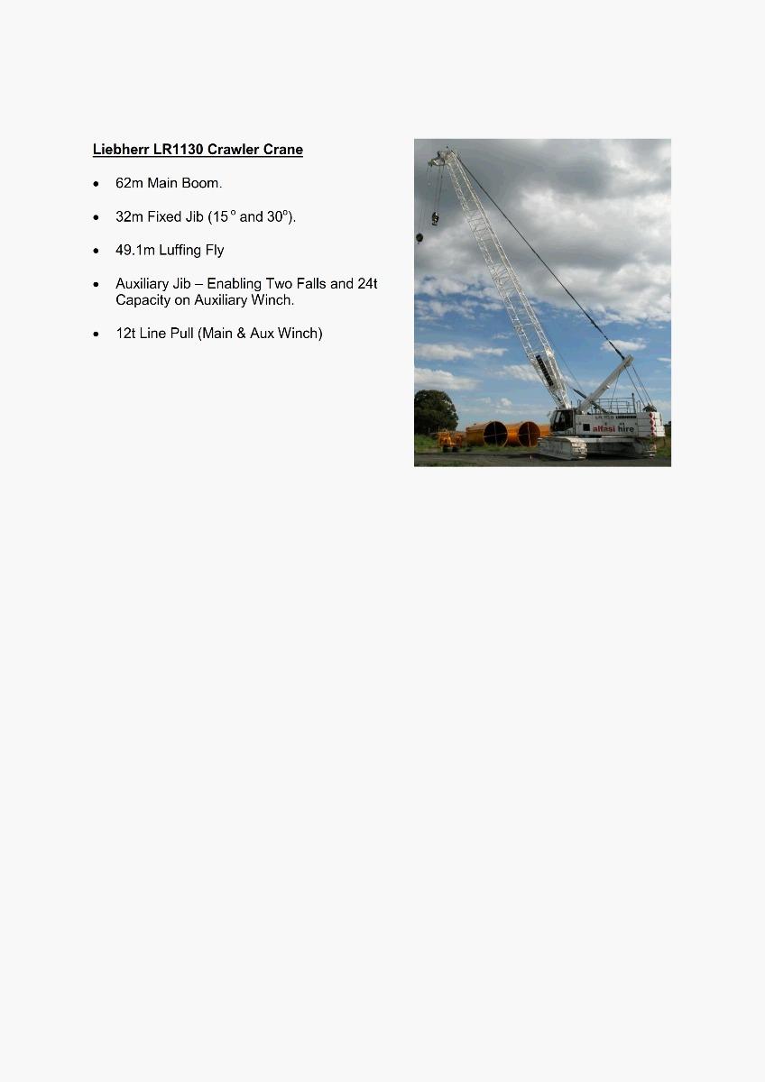 130T Crane Features 300
