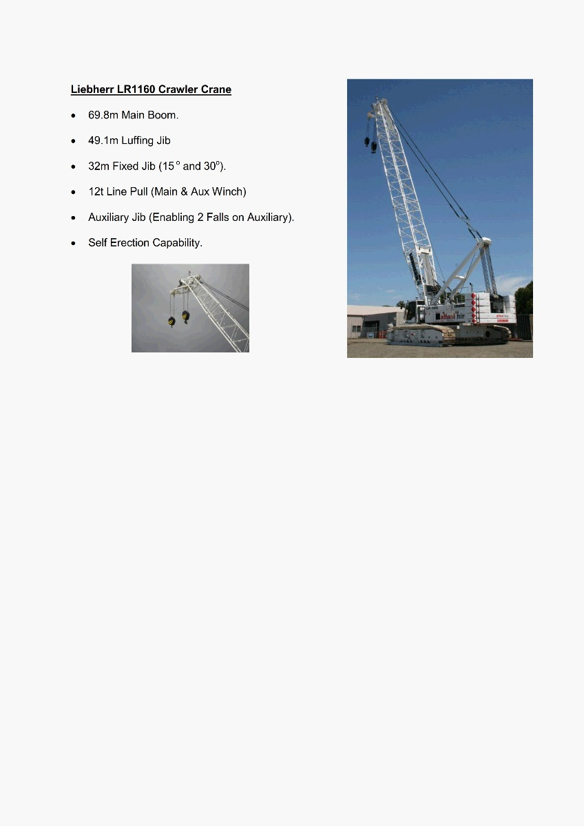 160T Crane Features 300