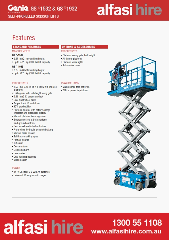 19 Electric Scissor Lift Features