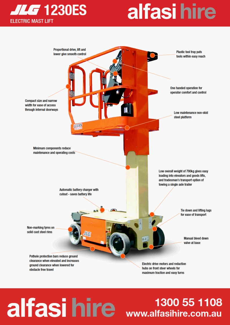 12 Vertical Lift Features