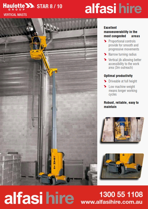 21 Vertical Lifts-Star 8 Features