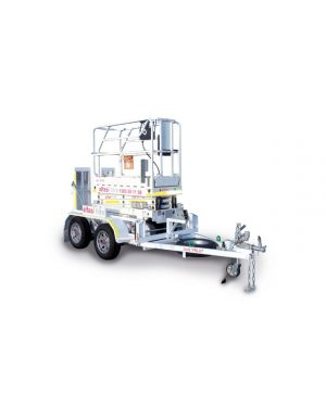 SCISSOR LIFT TRAILER