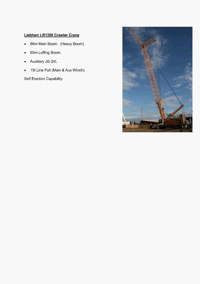 Liebherr LR1300 Crawler Crane_Features_300