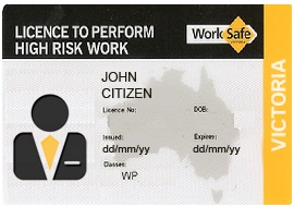 Worksafe (WP) Licence